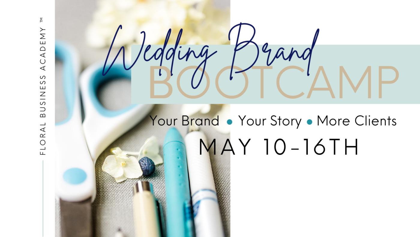 Wedding Brand Bootcamp